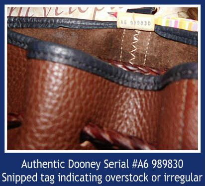 Dooney Teton Drawstring