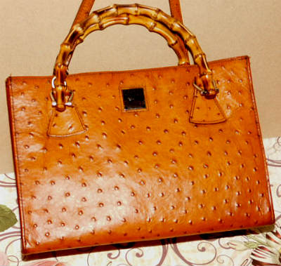 Dooney Ostrich Bag