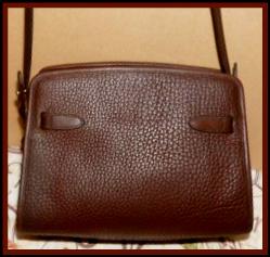 Vintage Dooney and Bourke  All-Weather Leather Zip Top
