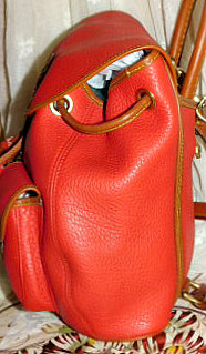 Dooney and Bourke AWL  All-Weather Leather  Canyon Pack