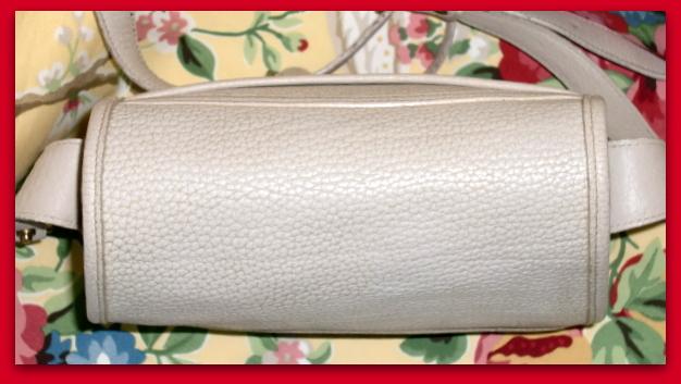 Teton Collection  Dooney & Bourke All Weather Leather  Rare Vintage Shoulder Bag