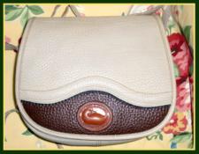 SOLD! Teton Collection Dooney & Bourke All Weather Leather Rare Vintage Shoulder Bag-Teton, Collection, Dooney, Bourke, All Weather Leather, Rare, Vintage, Shoulder, Bag,, nopin