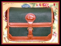 SOLD!!! Like New Mini Rectangular AWL Fir Green Surrey Bag by Dooney and Bourke-Like New, Mini, Rectangular, AWL, Fir ,Green ,Surrey, Bag, Dooney and Bourke,, nopin