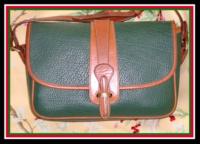 Equestrian Fir Green Dooney & Bourke AWL Tack Bag-Equestrian, Fir, Green, Dooney, Bourke, AWL ,Tack ,Bag,