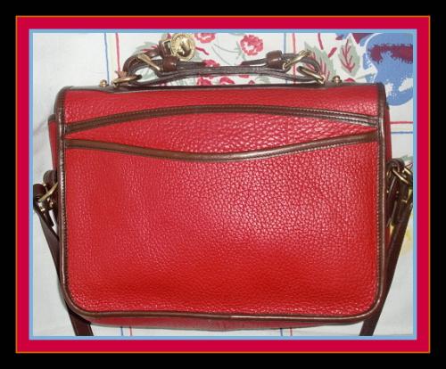 Dooney And Bourke Red Shoulder Bag 32