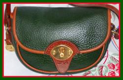 Lush Fir Green Cavalry Trooper Dooney & Bourke AWL Bag-Lush, Fir, Green ,Cavalry, Trooper, Dooney & Bourke, AWL ,Bag, nopin