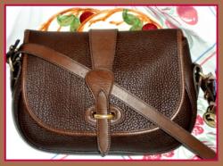 Rich Deep Dark Chocolate Tack Bag Dooney & Bourke AWL