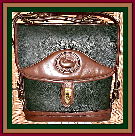 ... Cross Body Bag,Chocolate, Ivy Green, Large, Carrier, Dooney ,Bourke