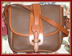 Very Rare Mushroom Equestrian Bag Vintage Dooney Bourke AWL-Equestrian ,Bag ,Vintage ,Dooney Bourke ,AWL , Mushroom Dooney, nopin
