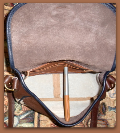 Vintage Dooney Teton Shoulder Bag
