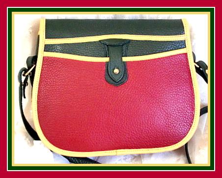Vintage Dooney Teton Shoulder Bag
