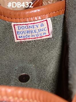 Vintage Essex North South Dooney Shoulder Crossbody Bag