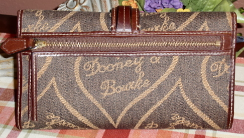 Dooney Hearts billfold