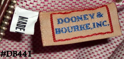 Dooney Bourke Signature Canvas Barrel Bag