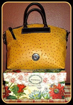 Dooney & Bourke Ostrich Bag