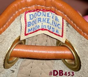 Vintage Dooney Drawstring
