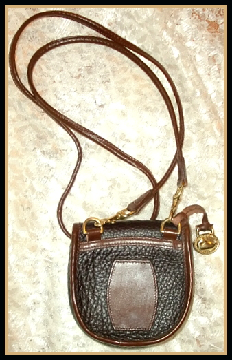 Vintage Dooney Saddle Bag Purse