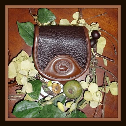 Vintage Dooney Saddle Bag Mini