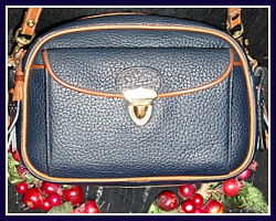 Dazzling Vintage Dooney & Bourke Large Scottish Style Kilty Bag