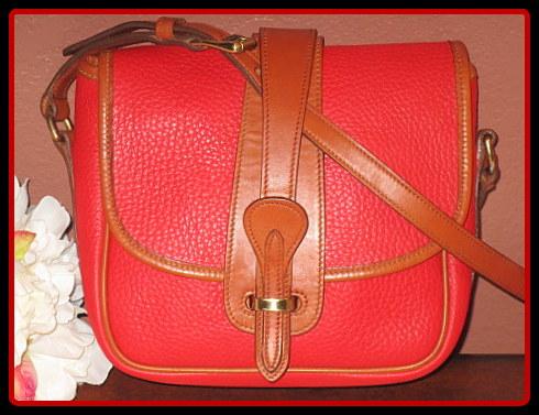 Vintage Dooney Equestrian Bag