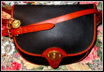 vintage dooney cavalry bag