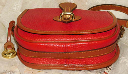 Dooney and Bourke  All-Weather Leather  Vintage Tack Bag