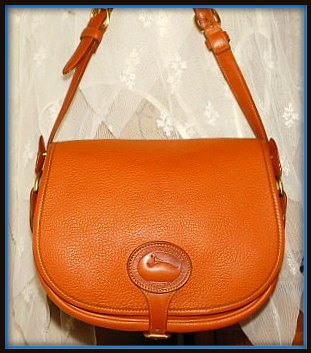 Dooney Saddle Bag