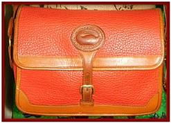 Elite Scarlet Tanager Red Vintage Dooney Large Surrey Bag-Dooney and Bourke  All-Weather Leather  R95 Large Surrey Bag,Elite Scarlet Tanager Red Vintage Dooney Large Surrey Bag