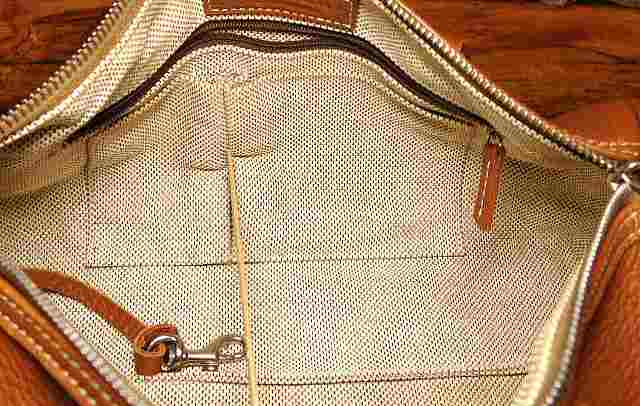 Saddle Tan Barrel Satchel Dooney Bag