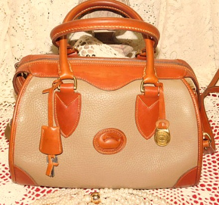 Regal Gladstone Vintage Dooney Satchel Shoulder Bag