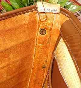 Irresistible Dooney Bayou Brown Flap Bag