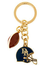 DOONEY & BOURKE  Football Key Fob  Brand New-DOONEY & BOURKE