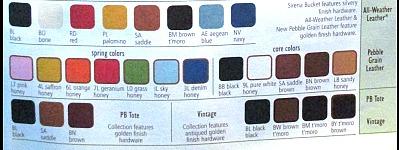 Dooney AWL Colors