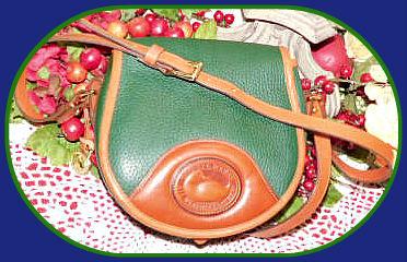 Dooney Bourke saddle bag purse