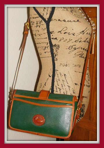 Fir Green Equestrian Dooney Bourke AWL Bag