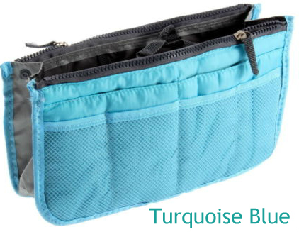 Handbag organizer pocket insert
