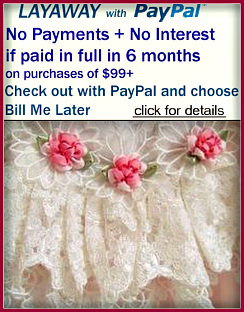 Paypal Credit gives you more time to pay-PaypalCredit payment for Your VintageDooney.com purchase