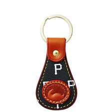 New! MLB  PITTSBURGH PIRATES Key Ring Dooney & Bourke Key Fob- Key Ring,MLB Pirates,Let's go Pirates! Shop officially licensed accessories and support your team in style.PITTSBURGH PIRATES