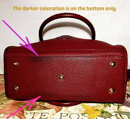 Dooney & Bourke Vintage Buckle Bag  All-Weather Leather    Satchel/Shoulder Bag Buckle Bag