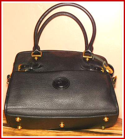 Large Dooney Buckle Bag Satchel
