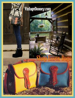 Essex Shoulder Bags-Essex Shoulder Bags| Vintage Dooney Bourke |Essex Shoulder Bags