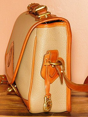 Vintage Dooney Carrier Shoulder Bag