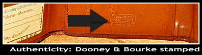 Vintage Dooney Credit Card Wallet