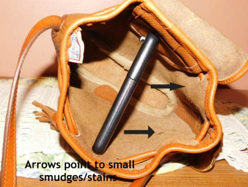 Vintage Dooney Pouch Crossbody Bag