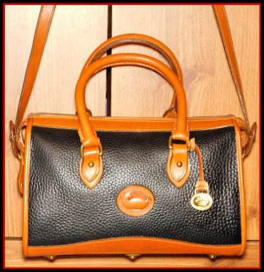 Vintage Dooney Satchel Shoulder Bag