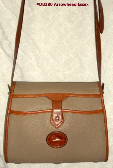 Db180 Dreamy All Weather Leather Dooney Bourke Arrowhead Es Bag Taupe Tan Catalog