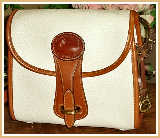 SOLD!!! Essex Dooney & Bourke All Weather Leather Vintage Mint