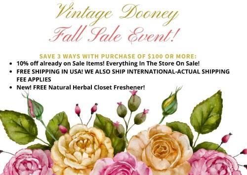 Vintage Dooney Sale