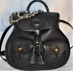 Steamy Espresso Black Dooney Canyon BackPack