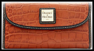 Forbidden Spice CONTINENTAL CLUTCH DOONEY & BOURKE NEW!
